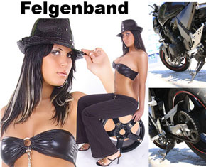 Felgenband in Aktion.